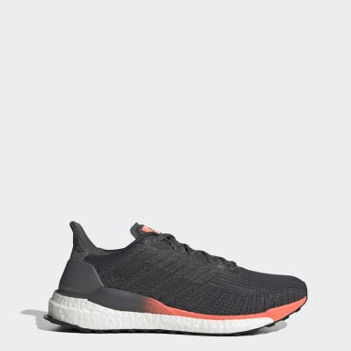 Men Running Grey Solarboost 19 Shoes