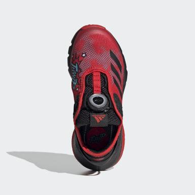 เด็ก เทรนนิง สีแดง รองเท้า Marvel Avengers Spider-Man ActiveFlex Boa