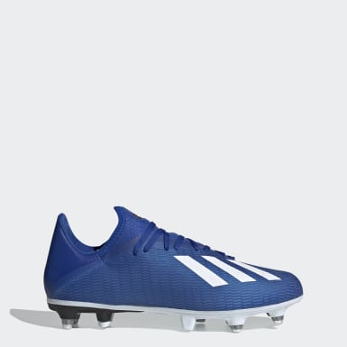 Chaussure X 19.3 Terrain gras Bleu Football