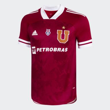 TERCERA CAMISETA CLUB UNIVERSIDAD DE CHILE Rojo Hombre Fútbol
