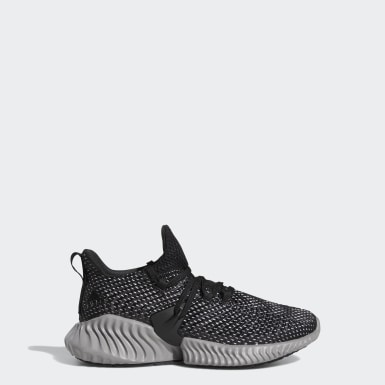 Kids Running Black Alphabounce Instinct Shoes