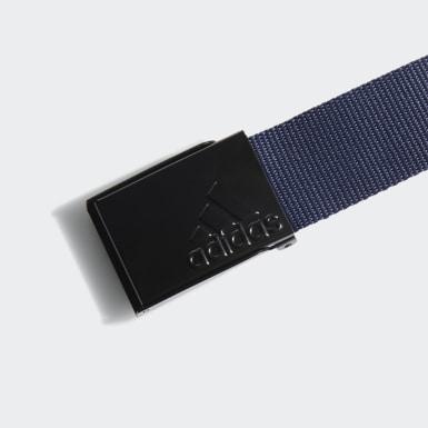 Cinturón reversible Web Azul Hombre Golf