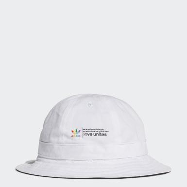 Originals White Pride Bucket Hat
