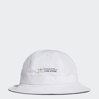 Originals White Pride Bucket Hat