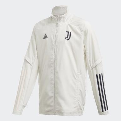 Kinder Fußball Juventus Turin Präsentationsjacke Grau
