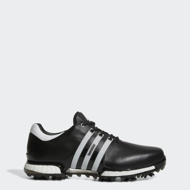 Men's Golf Black Tour 360 Boost 2.0 Shoes