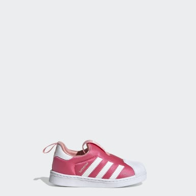 Tênis Superstar 360 Rosa Kids Originals