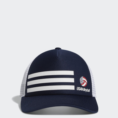 USA Volleyball 3-Stripes Trucker Hat