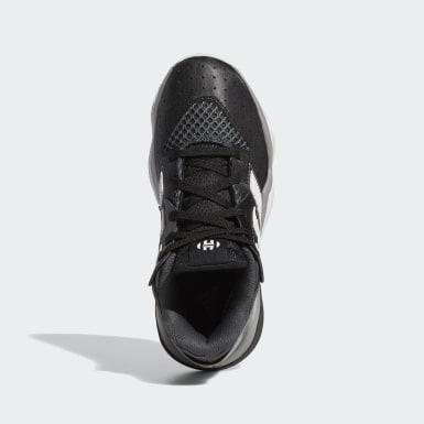 Zapatillas de básquet Harden Stepback (UNISEX) Negro Niño Básquet