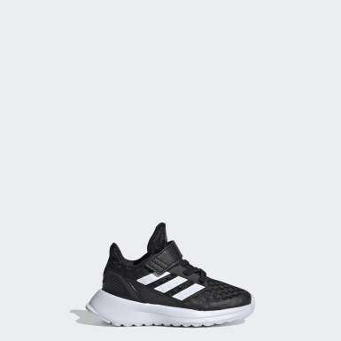 Infants Running Black RapidaRun Shoes