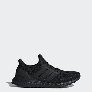 Walking Black Ultraboost Shoes
