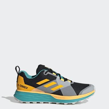 Heren TERREX Turquoise Terrex Two Trail Running Schoenen