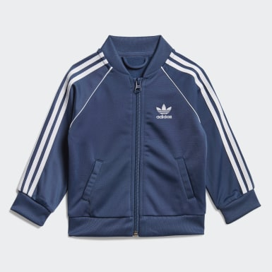 Kids Originals Blue SST Track Suit