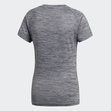 Playera Freelift Fitted Gris Mujer Training