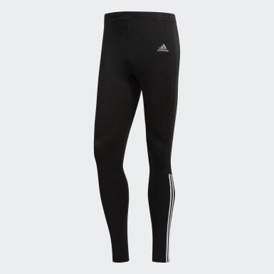 Muži Beh čierna Spodky Running 3-Stripes
