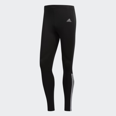 Tight Running 3-Stripes Nero Uomo Running