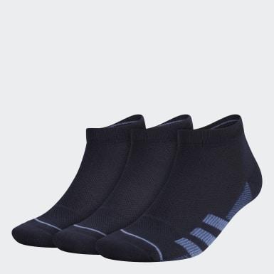 Men Training Blue Superlite Stripe Low-Cut Socks 3 Pairs