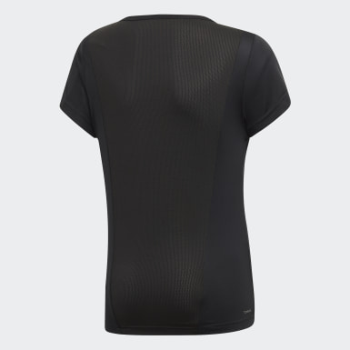 Camiseta Cardio Negro Niña Training
