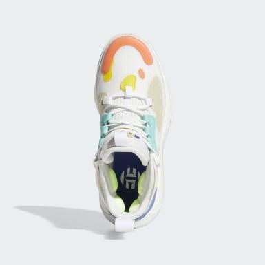 Kids Basketball White Harden Vol. 5 Shoes