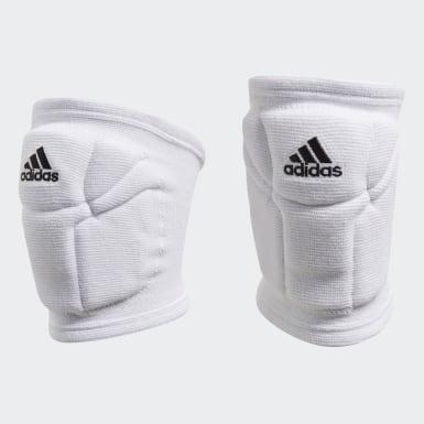 Volleyball Hvid Elite knæbeskyttere