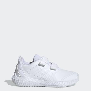 Çocuklar Koşu Beyaz FortaGym CF Ayakkabı