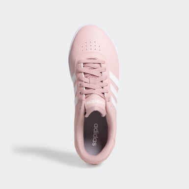 Women Sport Inspired Pink Court Bold Shoes