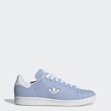 Women Originals Blue Stan Smith Shoes