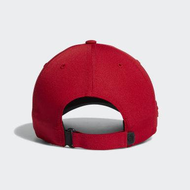 Men Golf Red Crestable Performance Cap