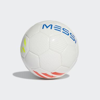 Minibola Messi Branco Futebol