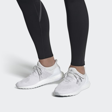 Men Running White Ultraboost DNA Atmos Shoes