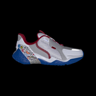 Youth Running White 4UTURE Runner Shoes