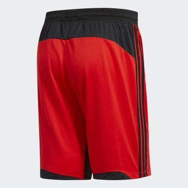 Men Training Red 4KRFT Sport 3-Stripes Shorts