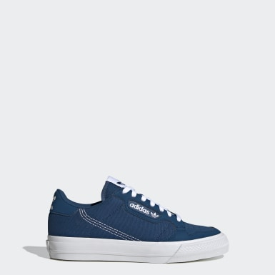 Kids Originals Blue Continental Vulc Shoes