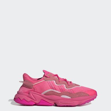 adidas trainer grigio rosa