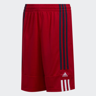Children Training Red 3G Speed X Shorts
