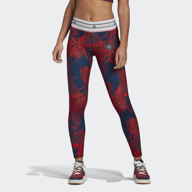 Tight adidas by Stella McCartney Future Playground Rouge Femmes adidas by Stella McCartney