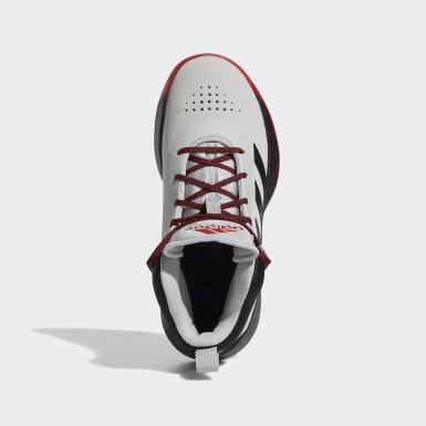 Children Basketball Grey Cross Em Up 5 Shoes