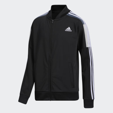 Youth Training Black Tricot Jacket