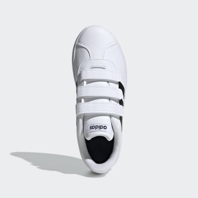 Chaussure VL Court2.0 Blanc Enfants Lifestyle