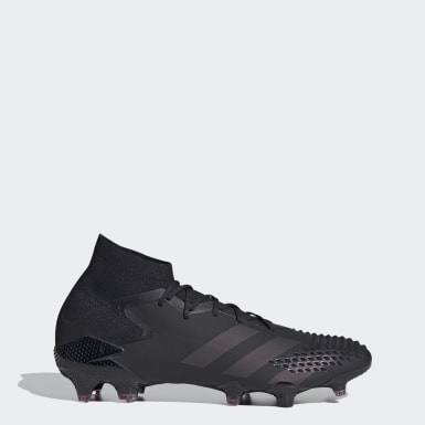 Men Soccer Black Predator Mutator 20.1 Firm Ground Cleats