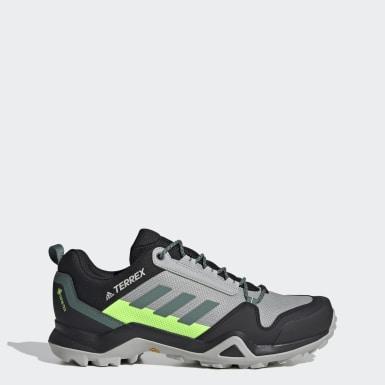 Sapatos de Caminhada AX3 GORE-TEX TERREX Cinzento Homem TERREX