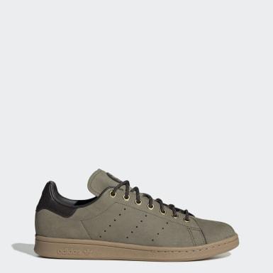 Women Originals Green Stan Smith Shoes