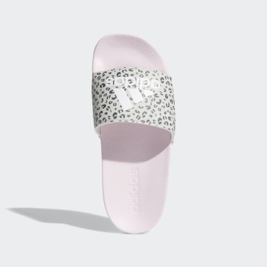 Children Essentials Pink Adilette Shower Slides
