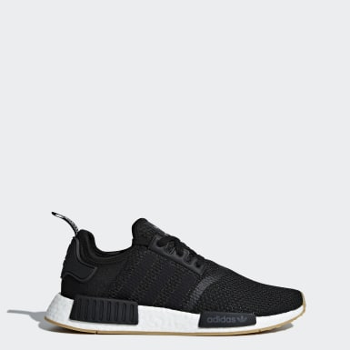 Originals สีดำ รองเท้า NMD_R1