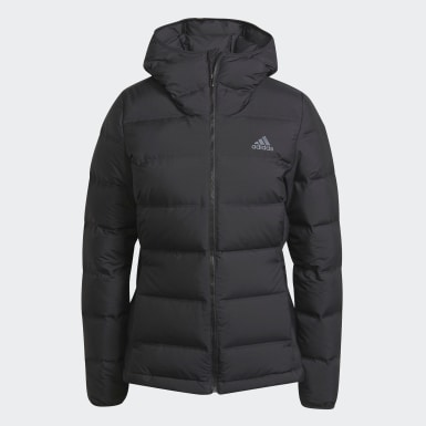 Kvinder Urban Outdoor Sort Helionic Hooded dunjakke