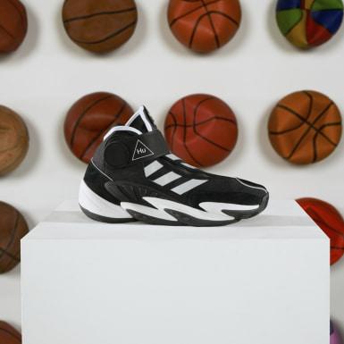 Erkek Basketbol Siyah Crazy BYW Pharrell Williams Ayakkabı