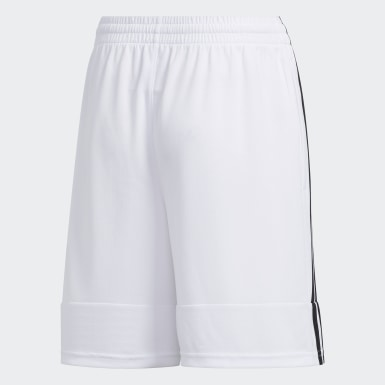 Youth Yoga White Iconic 3G Speed X Shorts