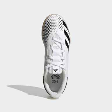 Children Soccer Black Predator Mutator 20.4 Indoor Sala Shoes