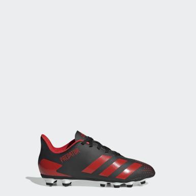 Kluci Fotbal černá Kopačky Predator 20.4 Flexible Ground