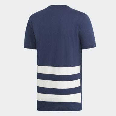 T-shirt French Handball Federation Blu Uomo Pallamano